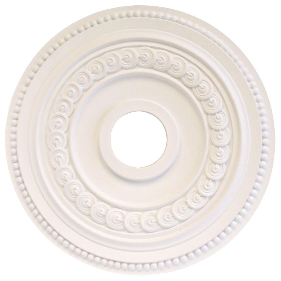 Ceiling Light Medallions Lowes : Portfolio white medallion at lowes
