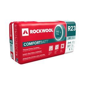 Roxul 5-Pack 47-in L x 23-in W x 5-1/2-in D 23-R Stone Wool Insulation Batts