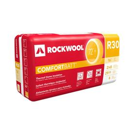 shop roxul wood stud r30 29 9 sq ft unfaced stone wool