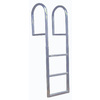 Dock Edge + 3 Step Aluminum Fixed Ladder