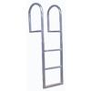 Dock Edge + 3 Step Aluminum Fixed Ladder