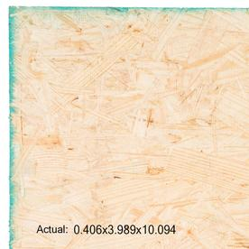 Windstorm OSB Sheathing 7/16 CAT PS2-10 (Common: 7/16 x 4-ft x 10-ft; Actual: 0.418-in x 48-in x 121.125-in)