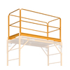 Metaltech Complete Guard Rail system for Maxi Drywall 6' Scaffold
