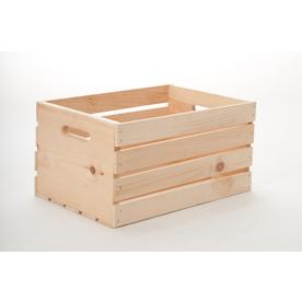 Shop STOR Crate 125 in W X 95 in H 175 in D Wood Bin