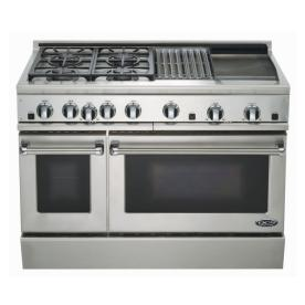 gas oven double oven gas range stainless steel. Black Bedroom Furniture Sets. Home Design Ideas