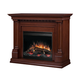 Shop Dimplex 51 In Cherry Electric Fireplace At