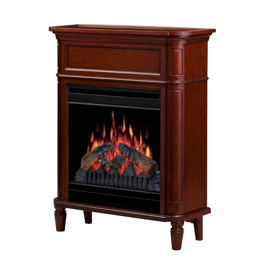 Shop Dimplex 31 In W Cherry Wood Electric Fireplace With Thermostat And Remote Control At