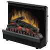 Dimplex 23.19-in W 4,695-BTU Black Wood Veneer Fan-Forced Electric Fireplace with Thermostat and Remote Control