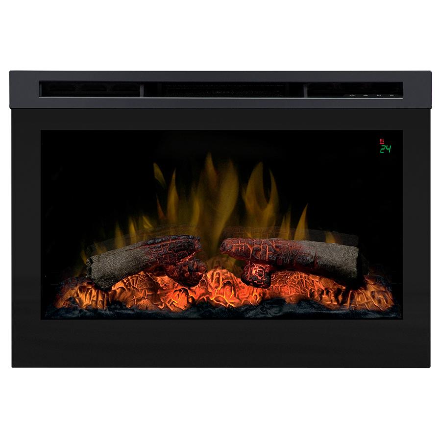Shop Dimplex Black Electric Fireplace Firebox At