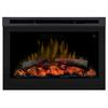 Dimplex 25.75-in Black Electric Fireplace Insert
