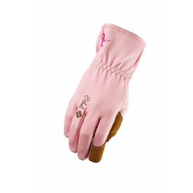 Ethel Gloves Women's Large Pink Garden Gloves