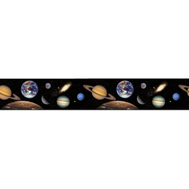 Shop Borders Unlimited Outer Space Wallpaper Border At