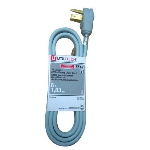 laundry room electrical utilitech utilitech 6  10 gauge extension cord