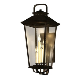 light allen roth parsons field 22 in h black outdoor wall light. Black Bedroom Furniture Sets. Home Design Ideas