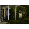 allen + roth Parsons Field 25.4-in H Black Outdoor Wall Light