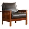 Home Sonata Oak Accent Chair