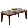 Home Sonata Cherry Asian Hardwood Rectangular Coffee Table