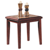 Home Sonata Espresso Asian Hardwood Rectangular End Table