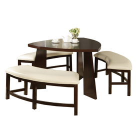 Home Sonata Oak 4-Piece Dining Set