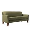 Home Sonata Oak Microsuede Sofa