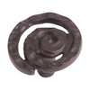 Lola & Company 1-1/4-in Oil-Rubbed Bronze Scroll Rectangular Cabinet Knob