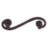 Lola & Company 3-in Center-to-Center Oil-Rubbed Bronze Scroll Cup Cabinet Pull