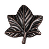 Lola & Company 2-in Venetian Bronze Leaf Round Cabinet Knob