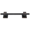 Lola & Company 4-in Center-to-Center Venetian Bronze Craftsman Bar Cabinet Pull