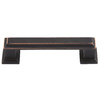 Lola & Company 3-in Center-to-Center Venetian Bronze Sutton Place Bar Cabinet Pull