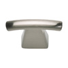Lola & Company 1-1/2-in Brushed Nickel Fulcrum Rectangular Cabinet Knob