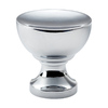 Lola & Company 1-1/4-in Polished Chrome Shelly Round Cabinet Knob