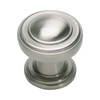 Lola & Company 1-1/8-in Brushed Nickel Bronte Round Cabinet Knob