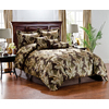 Monroe Brown Queen Polyester Comforter