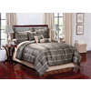 Monroe Brown King Polyester Comforter