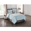 Peninsula Suites Blue Queen Polyester Comforter