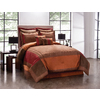 Peninsula Suites Chocolate King Polyester Comforter