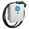 GE DURASTATION Level 2 30-Amp Wall Mounted Single Electric Car Charger