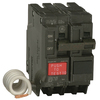 GE Q-Line Thql 50 Amp 2-Pole Ground Fault Circuit Breaker