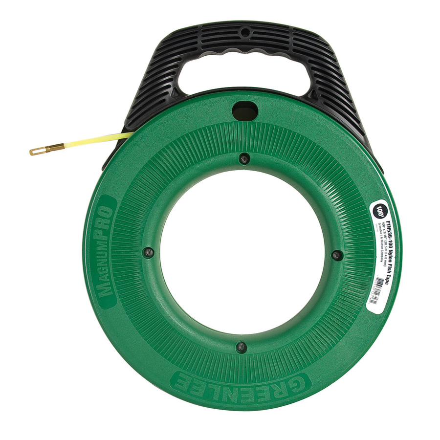 Shop greenlee 100 ft nylon fish tape at for Fish tape lowes