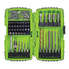 Greenlee 68-Piece High-Speed Steel Metal Twist Drill Bit Set