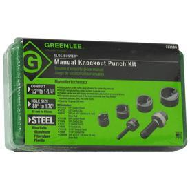 Greenlee Manual Knockout Punch Set