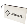 Greenlee Small Cotton Zipper Open-Ended Holder