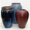 17-in x 48-in Ceramic Planter