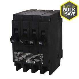 Siemens QP 20-Amp 2-Pole Quad Circuit Breaker