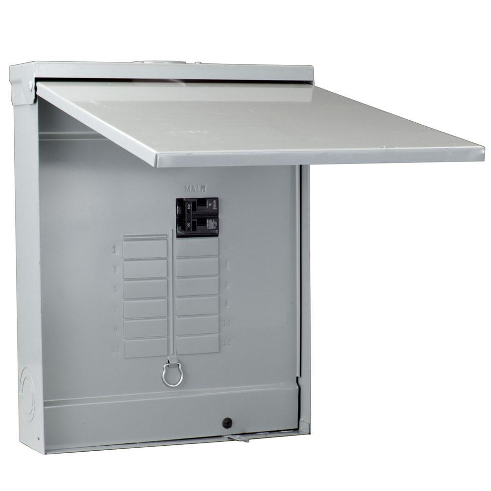 shop siemens siemens 100 amp main breaker panel at