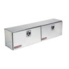 WEATHER GUARD 72.25-in x 13.25-in x 16-in Silver Aluminum Universal Truck Tool Box