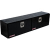 WEATHER GUARD 72.25-in x 13.25-in x 16-in Black Aluminum Universal Truck Tool Box