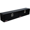 WEATHER GUARD 90.25-in x 13.25-in x 16-in Black Aluminum Universal Truck Tool Box