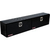 WEATHER GUARD 90.25-in x 16.25-in x 18-in Black Aluminum Universal Truck Tool Box