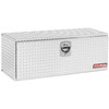 WEATHER GUARD 48.125-in x 18-in x 18-in Silver Aluminum Universal Truck Tool Box